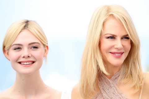 Elle Fanning and Nicole Kidman at Cannes Film Festival