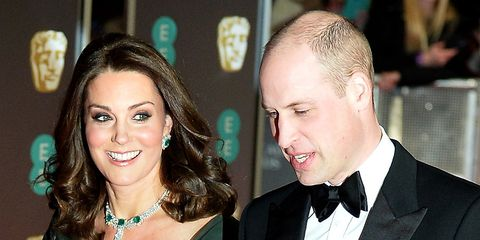 Prince William i Kate Middleton 2018 BAFTA nagrade – princ William i Kate Middleton BAFTA mode