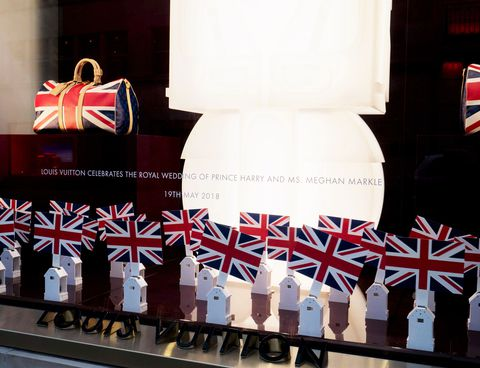 Ludvig Vuitton royal wedding bags