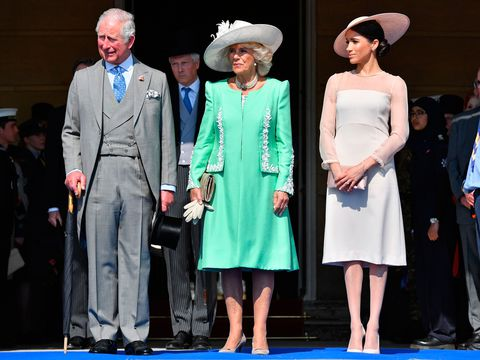 Meghan, Camilla and Charles